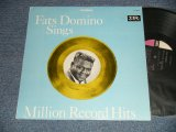 "FATS DOMINO - SINGS MILLION RECORD HITS (Ex+++/MINT-) /1964 US AMERICA ORIGINAL 1st press ""BLACK with PINK & WHITE Label"" STEREO Used  LP"
