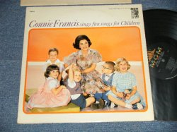 画像1: CONNIE FRANCIS - SINGS FUN SONGS FOR CHILDREN (Ex++/MINT- EDSP) / 1962 US AMERICA ORIGINAL MONO Used LP