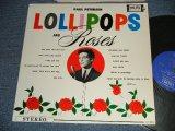 PAUL PETERSEN - LOLLIPOP and ROSES :(Ex+++/Ex++) /  1962 US AMERICA ORIGINAL STEREO Used LP