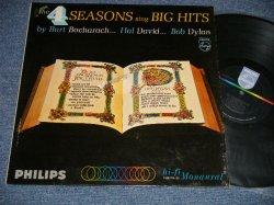 画像1: THE 4 FOUR SEASONS - SING BIG HITS by BURT BACHARACH, HAL DAVID... BOB DYLAN (MINT-/MINT-)  / 1965 US AMERICA ORIGINAL MONO Used LP