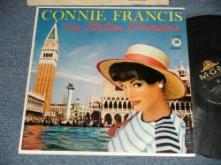 画像1: CONNIE FRANCIS - SINGS ITALIAN FAVORITES (Ex++/Ex+++ STAPLEHOLE) / 1959 US AMERICA ORIGINAL MONO  Used LP