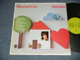 "WANDA JACKSON - A WOMAN LIVES FOR LOVE ( Ex++/VG+++ Looks:Ex+, Ex+++) / 1970 US AMERICA ORIGINAL ""CAPITOL RECORD CLUB Release"" Used  LP"