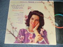 """画像1: WANDA JACKSON - WONDERFUL WANDA( Ex+Ex+++) / 1962 US AMERICA ORIGINAL """"BLACK with RAINBOW CAPITOL LOGO on TOP Label"""" STEREO Used  LP"""