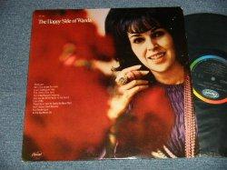 """画像1: WANDA JACKSON - THE HAPPY SIDE OF WANDA ( Ex+++Ex++ EDSP) / 1969 US AMERICA ORIGINAL """"BLACK with RAINBOW CAPITOL LOGO on TOP Label"""" STEREO Used  LP"""