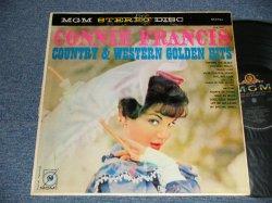 画像1: CONNIE FRANCIS - COUNTRY & WESTERN GOLDEN HITS (Ex/MINT-) / 1959 US AMERICA ORIGINAL STEREO Used LP