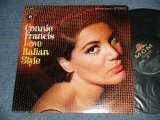 CONNIE FRANCIS - LOVE ITALIAN STYLE (Ex++/Ex+++ swobc) / 1967 US AMERICA ORIGINAL STEREO Used LP