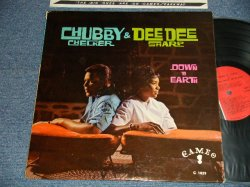 画像1: CHUBBY CHECKER & DEE DEE SHARP - DOWN & EARTH (Ex+++, EX+/Ex++) / 1962 US AMERICA ORIGINAL MONO Used LP
