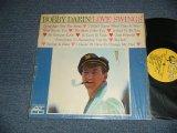 "BOBBY DARIN - LOVE SWINGS (MINT-/Ex+++ BB / 1961 US ORIGINAL 1st Press ""YELLOW Label"" MONO Used LP"