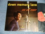 DEE DEE SHARP - DOWN MEMORY LANE (Ex++/MINT- SWOBC) / 1963 US AMERICA ORIGINAL MONO Used LP
