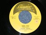 "DONNIE OWENS - A) NEED YOU  B) IF I'M WRONG (Ex+/Ex+) / 1958 US AMERICA ORIGINAL Used 7"" SINGLE"
