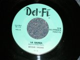 "RITCHIE VALENS - A) LA BAMBA B) DONNA (Ex+++/Ex+++) / 1958 US ORIGINAL ""Lime Green Label"" Used 7"" Single"