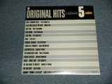 "V.A. Various OMNIBUS - The ORIGINAL HITS Volume 5 (SEALED) /  1962 US AMERICA ORIGINAL MONO ""BRAND NEW SEALED"" LP"