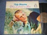 TAB HUNTER - WHEN I FALL IN LOVE (Ex/Ex+ Looks:Ex- TAPE SEAM EDSP) / 1959 US AMERICA ORIGINAL STEREO Used LP