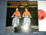 """THE TWINS JIM and JOHN - TEENAGERS LOVE THE TWINS (NEW) / EUROPE REISSUE """"BRAND NEW"""" LP"""