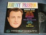 JOHNNY PRESTON - RUNNING BEAR (Ex+++/MINT- Looks:Ex+++) / 1960 US AMERICA ORIGINAL MONO Used LP
