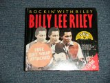 "BILLY LEE RILEY - ROCKIN' WITH RILEY (SEALED) / 1995 UK ENGLAND OTIGINAL ""BRAND NEW SEALED"" 3-CD'S"