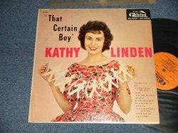 画像1: KATHY LINDEN - THAT CERTAIN BOY (Ex++/Ex++ Looks:Ex+++) /1958 US AMERICA ORIGINAL MONO Used LP