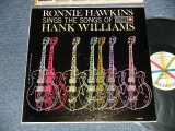 RONNIE HAWKINS - SINGS THE SONGS OF HANK WILLIAMS (Ex+++/Ex++ Looks:Ex+++)  / 1960 US AMERICA ORIGINAL MONO Used LP