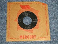 """画像1: The DIAMONDS- A) WORDS OF LOVE (Buddy Holly song) B) DON'T SAY GOODBYE (Ex++/Ex++) / 1957 US AMERICA ORIGINAL """"BLACK Label Version""""  Used 7""""SINGLE"""
