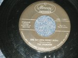 """The DIAMONDS- A) SHE SAY (OOM DOOBY DOOM)  B) FROM THE BOTTOM OF MY HEART (VG+++/VG+++) / 1959 US AMERICA ORIGINAL """"BLACK Label Version""""  Used 7""""SINGLE"""