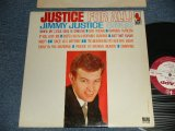 "JIMMY JUSTICE - JUSTICE FOR ALL!  (Ex++/Ex+++ EDSP) / 1963 US AMERICA ORIGINAL ""WHITE LABEL PROMO"" MONO Used LP"