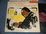 "FATS DOMINO - ROCK AND ROLL WITH FATS DOMINO (Ex++/Ex+++)/ 1956 US AMERICA ORIGINAL ""1st press MAROON Label"" MONO Used LP"