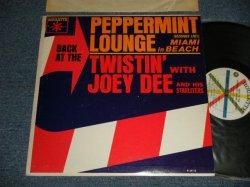 画像1: JOEY DEE AND HIS STARLITERS - BACK AT THE PEPPERMINT LOUNGE in MIAMI BEACH (Ex++/Ex++) / 1962 US AMERICA ORIGINAL MONO Used LP