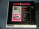 PAUL & PAULA - SING FOR YOUNG LOVERS (Ex/VG+++) /1963 US AMERICA ORIGINAL MONO Used LP