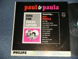 PAUL & PAULA - SING FOR YOUNG LOVERS (Ex++/Ex++) /1963 US AMERICA ORIGINAL MONO Used LP