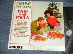 画像1: PAUL & PAULA - HOLIDAY FOR TEENS (Ex++/Ex+) /1963 US AMERICA ORIGINAL MONO Used LP