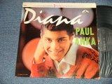 PAUL ANKA - DIANA (Ex++, Ex/Ex++ Looks:Ex+ EDSP, WOBC) / 1962 US AMERICA ORIGINAL STEREO Used LP