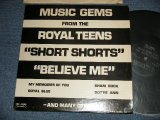 The ROYAL TEENS - MUSIC GEMS FROM THE ROYAL TEENS (Ex+/Ex+++ Looks:E) / 1975 US AMERICA ORIGINAL MONO Used  LP