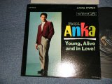 PAUL ANKA - YOUNG, ALIVE AND IN LOVE! (with PORTRAIT OF PAUL ANKA on BACK COVER STYLE) (Ex++/Ex+++) /1962 US AMERICA ORIGINAL 2nd Press Jacket  MONO Used LP