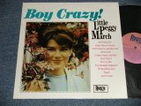 LITTLE PEGGY MARCH - BOY CRAZY (MINT/MINT) / 1986 AUSTRALIA REISSUE Used LP