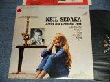 "NEIL SEDAKA /- SINGS HIS GREATEST HITS (Ex+/MINT- SWOFC, STOFC, SWOBC) / 1962 US AMERICA ORIGINAL ""PROMO"" MONO Used LP"