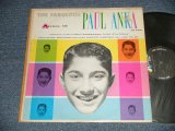 PAUL ANKA  v.a. Various - The Fabulous Paul Anka And Others (Ex/Ex++ Tape seam) / 1960 US AMERICA ORIGINAL MONO Used LP