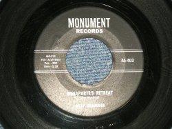 """画像1: BILLY GRAMMER - A) BONAPARTE'S RETREAT  B) THE KISSING TREE (Ex/Ex) / 1959 US AMERICA ORIGINAL Used 7"""" Single"""