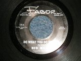 "NED MILLER - A) DO WHAT YOU DU DO WELL  B) DUSTY GUITAR (Ex+/Ex+) / 1964 US AMERICA ORIGINAL Used 7"" Single"
