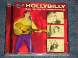 BUDDY HOLLY - HILLBILLY : BUDDY HOLLY 1956 THE COMPLETE RECORDINGS   (MINT-/MINT) / 2007 SPAIN ORIGINAL Used 2-CD