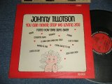 "JOHNNY TILLOTSON - YOU CAN NEVER STOP ME LOVING YOU (Ex+++, Ex+/Ex+++ WEAR)  /1963 US AMERICA ORIGINAL 1st Press ""RED with BLACK RING"" Label Stereo Used LP"