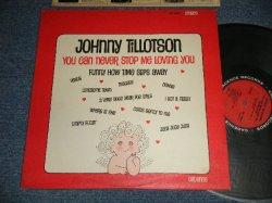 """画像1: JOHNNY TILLOTSON - YOU CAN NEVER STOP ME LOVING YOU (Ex+++, Ex+/Ex+++ WEAR)  /1963 US AMERICA ORIGINAL 1st Press """"RED with BLACK RING"""" Label Stereo Used LP"""