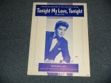 PAUL ANKA - TONIGHT MY LOVE TONIGHT / US AMERICA Used SHEET MUSIC