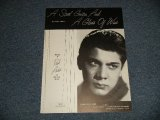 PAUL ANKA - A STEEL GUITAR AND A GLASS OF WINE / US AMERICA Used SHEET MUSIC