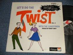 画像1: The CANDYMEN Vocals By Randy Andy with JOEY DEE AND HIS STARLITERS - LET'S DO THE TWIST VOL.3 with The CANDYMEN (Ex++/Ex++)/ 1962 US AMERICA ORIGINAL STEREO Used LP