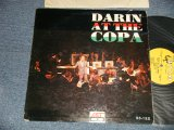 "BOBBY DARIN - DARIN AT THE COPA (Ex-/Ex+ BROKEN, SPLIT) / 1960 US ORIGINAL 1st Press ""YELLOW with HARP Label"" MONO Used LP"