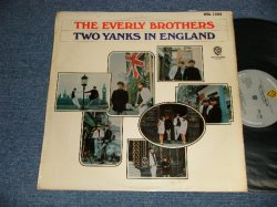 "画像1: The EVERLY BROTHERS- TWO YANKS IN ENGLAND (Ex++/Ex+++) / 1966 UK ENGLAND ORIGINAL ""GRAY LABEL"" MONO Used LP"