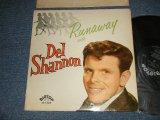 DEL SHANNON - RUNAWAY with DEL SHANNON (Ex++/Ex++) / 1961 US AMERICA ORIGINAL MONO Used LP