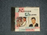 RITCHIE VALENS - Ritchie Valens / Ritchie (MINT-/MINT) / 1990 UK ENGLAND Used CD