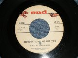 "THE FLAMINGOS - A) NOBODY LOVES ME LIKE YOU  B) BESAME MUCHO (Ex/Ex) / 1960 US AMERICA ORIGINAL Used 7"" inch SINGLE"