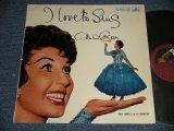 ALMA COGAN - I LOVE TO SING (Ex+++/Ex+++) /1958 UK ENGLAND ORIGINAL MONO Used LP